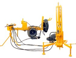 Portable Seismic Shot Hole Drilling Rig, Model Name/Number: JSP-10, Capacity: 80 Meter