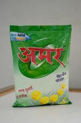 Amar Detergent Powder, for Laundry, Packaging Type: Bag