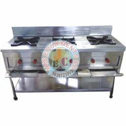 For Commercial LPG 3 Burner Range Counter
