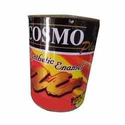 High Gloss Wood, Metal Cosmo Synthetic Enamel Paint, Packaging Type: Can