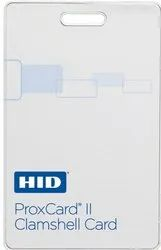 ABS Double Sided HID Clamshell Cards/ HID Proximity Cards, Shape: Rectangular