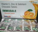 IMMUDALE Vitamin C, Zinc And Selenium Chewable Tablets