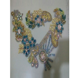 Beads Stone Embroidery Work