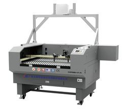 Big Area Camera Positioning Dual-Head Laser Cutting Machine