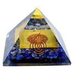 7 Chakra Orgone Orgonite Pyramid