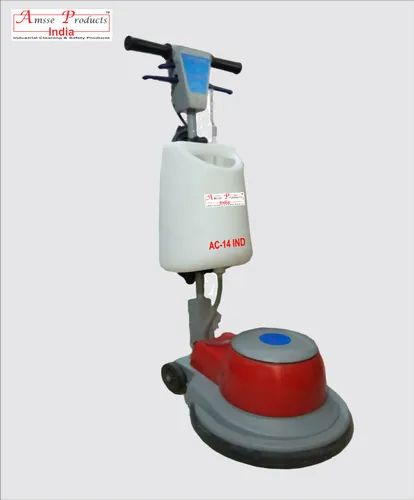 Amsse Single Disc Floor Cleaner Machine AC-14, Brush Diameter: 17 ...