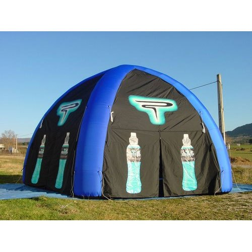 Aditya Inflatables Blue And Black Outdoor Inflatable Advertising Tent,  Size: 5 X 5 M, Rs 100000 /piece | ID: 21010075412