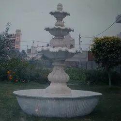 Wedding Fiber Fountain for Outdoor Decoration