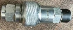 KLMN Mild Steel MALE FEMALE COUPLING, For Pneumatic Connections, Size: 1 inch