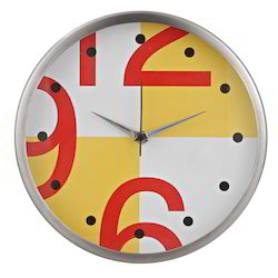 Fancy Steel Wall Clock