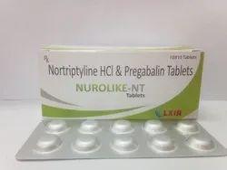 Nurolike-Nt (Pregabalin 75MG & Nortriptyline 10MG)