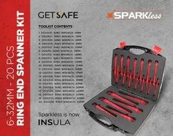 VDE 1000v Insulated Ring Spanner Set