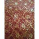 Zari Work Net Fabric