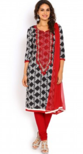 2f3d80079f Soch Dark Indigo and Maroon Ready to Stitch Salwar Suit at Rs 3998 ...