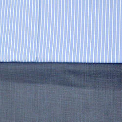 White Collar Formal Shirt And Pant Fabric