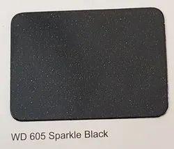 Wd-605 Sparkle Black ACP Sheets