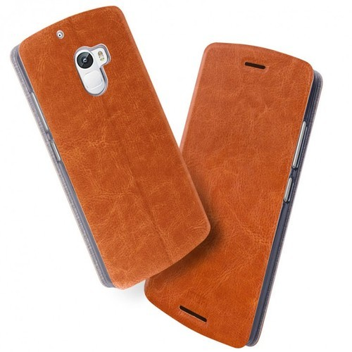 outlet store fbaf1 b3d45 Lenovo K4 Note Leather Back Cover