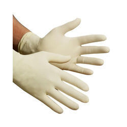 White Powder Free Latex Examination Gloves