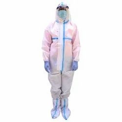Oriley Orpp05 Ppe Kit With Coverall Suit, Face Shield, Mask, Hand Gloves & Shoe Cover