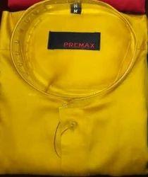 Men Yellow Shirt