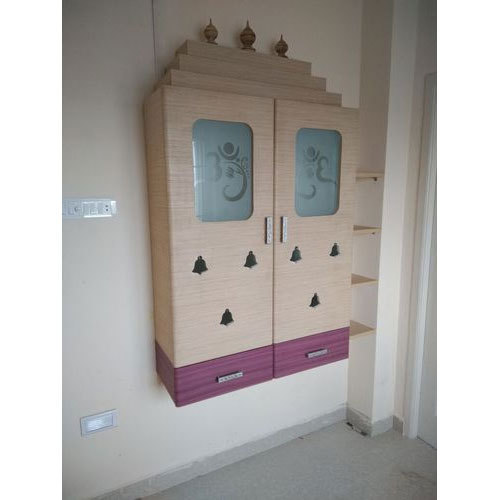 Wooden Pooja Cabinet  sc 1 st  IndiaMART : wall mounted pooja cabinet - Cheerinfomania.Com