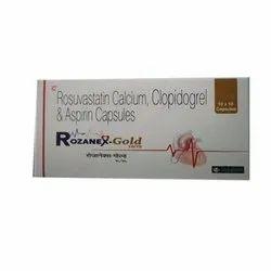 Rosuvastatin Calcium Clopidogrel And Aspirin Capsules