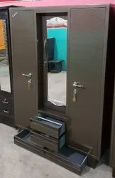 Three Door Steel Almirah
