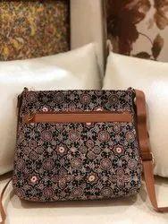 Multicolor Cotton Casual Bags, Size: 8.5*10