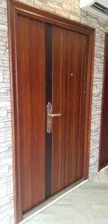 Standard Brown I leaf steel door, Single, Material Grade: Gi,Gl