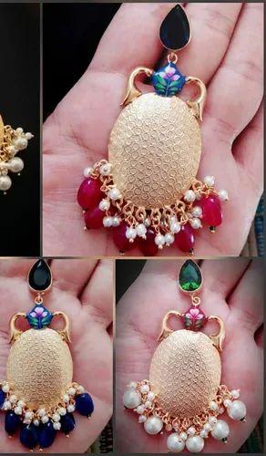 Hand Made Patra Earring