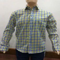 Multicolor Men's Checked Formal Shirt