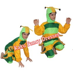 Kids Caterpillar Cartoon Costume