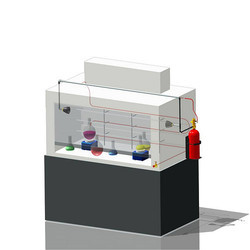 Laboratory Fume Hood Fire Suppression System
