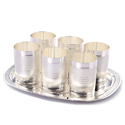 German Silver Glass Set