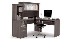 Wooden L Shape Office Desk For Home