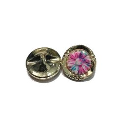 Polyester Round Fancy Garment Buttons, for Garments, Packaging Type: Packet