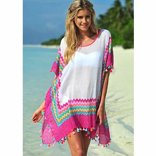 301f04ebd4 Multicolor Plain Beachwear Kaftan, Rs 375 /piece, Myon Fashion ...