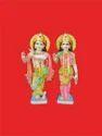 Radha Krishna Marble Moorti