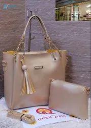 Mariquita Designer Combo Tote Shoulder Sling Handbag