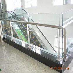 Stainless Steel Shopping Mall Railing