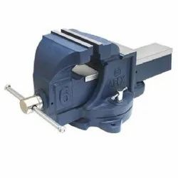 Mild Steel Apex Bench Vice, For Industrial, Base Type: Fixed
