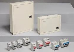 L&T MCB Enclosure DB Board, For Electric Fittings