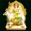 Maa Shailputri Marble Statue