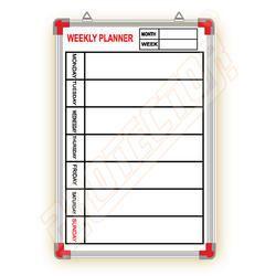 Weekly Planner Printed Board