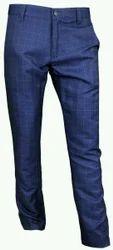 Cotton Mens Plain Trouser
