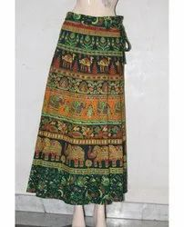 Rajasthani Printed Wrap Skirt