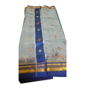 Party Wear Embroidered Saree, Length: 6 M