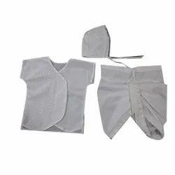 Newborn Baby Dhoti Suit, Age Group: 0-1yr