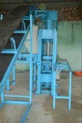 Semi Automatic Interlocking Tile Making Machinery