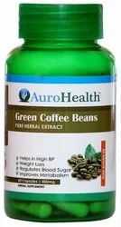 Aurohalth Green Coffee Beans Capsule, Packaging Type: 60